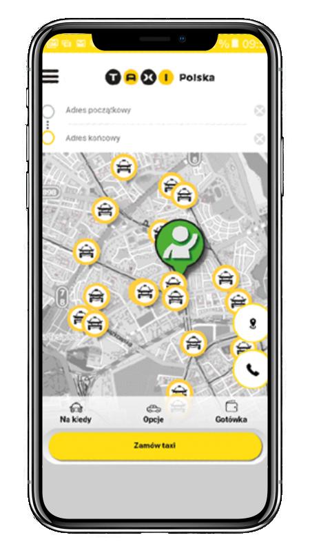 aplikacja taxi